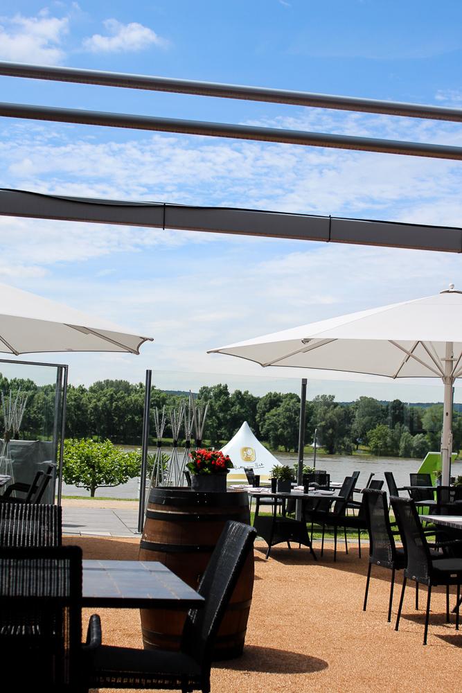 Brasserie Next Level Kameha Grand Bonn Blog Restaurant Rheinblick