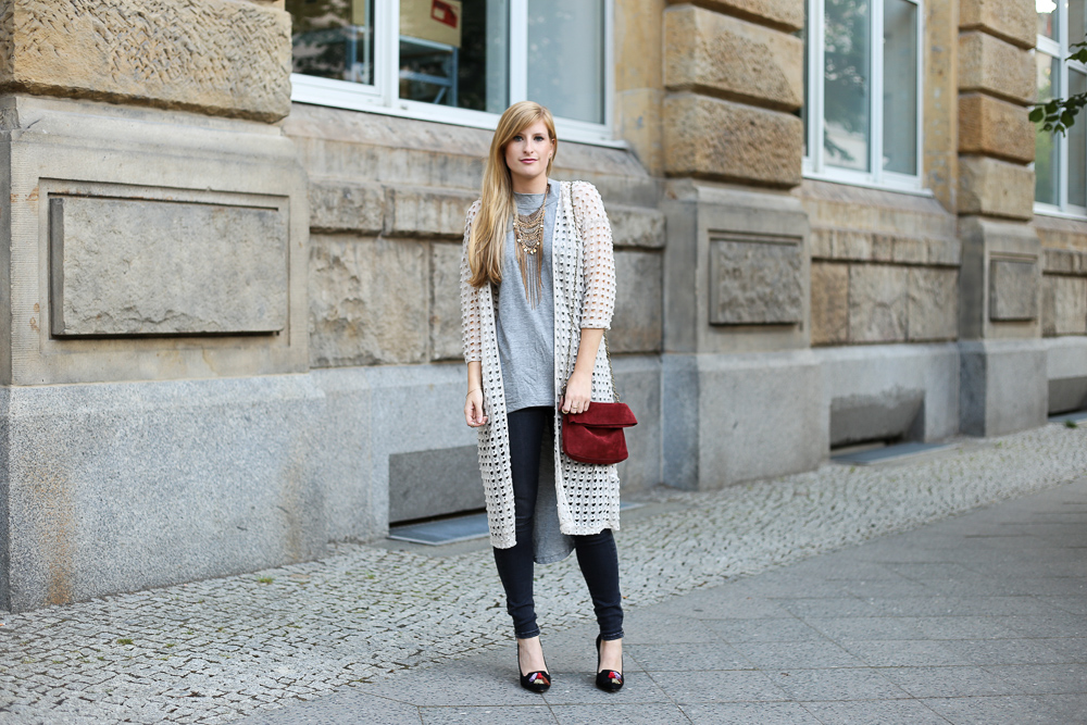 Casual Fashion Week Look in Berlin von Vero Moda
