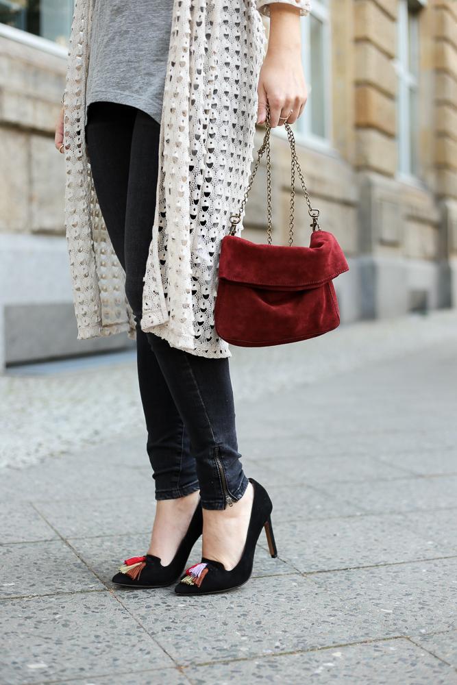 MBFW Outfit Skinny Jeans Vero Moda Pumps Quasten Blogger BrinisFashionBook 5