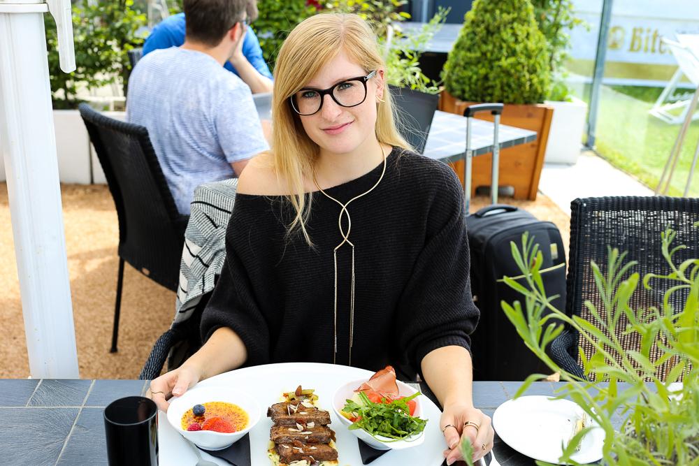 Modeblog Bonn Mittagessen Kameha Grand Bonn Business Lunch BrinisFashionBook