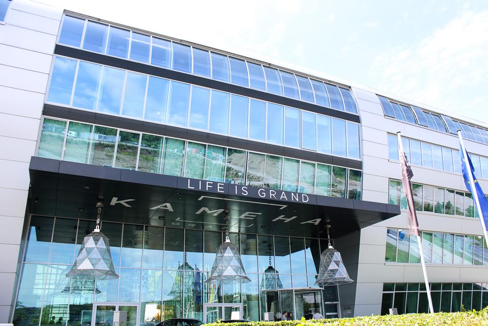 Reiseblog Bonn Mittagessen Kameha Grand Bonn Luxushotel Business Hotel