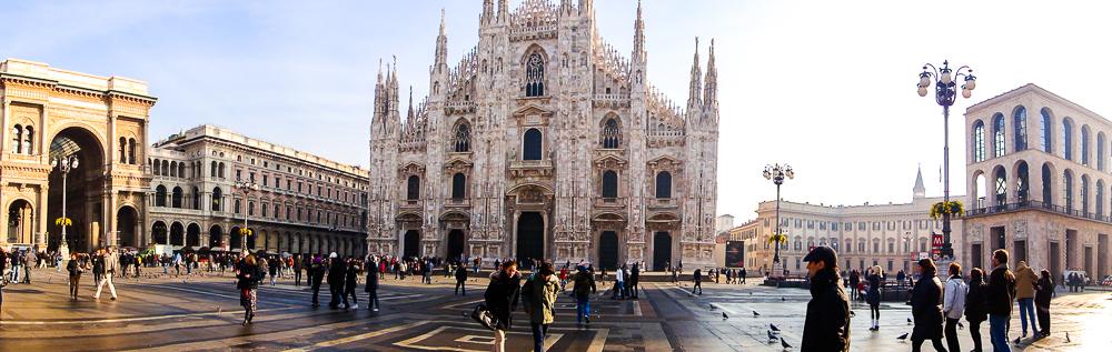 Reiseblog Deutschland Mailand Dom Sehenswürdigeiten Reisepläne
