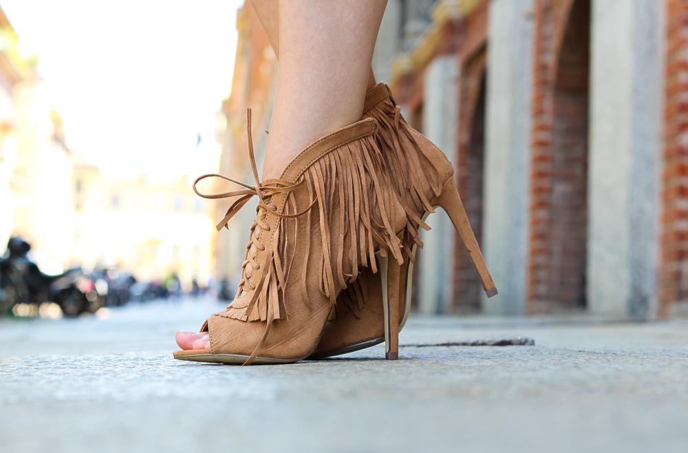 braune Fransen High Heels Mailand Modeblog Fashion blogger BrinisFashionBook 9