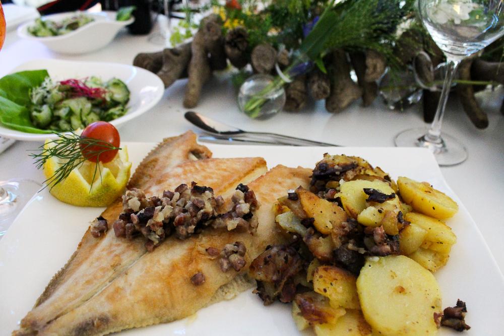 Mercure Blogger Event Hamburg Traditionsgericht Scholle Finkenwerder Bratkartoffeln