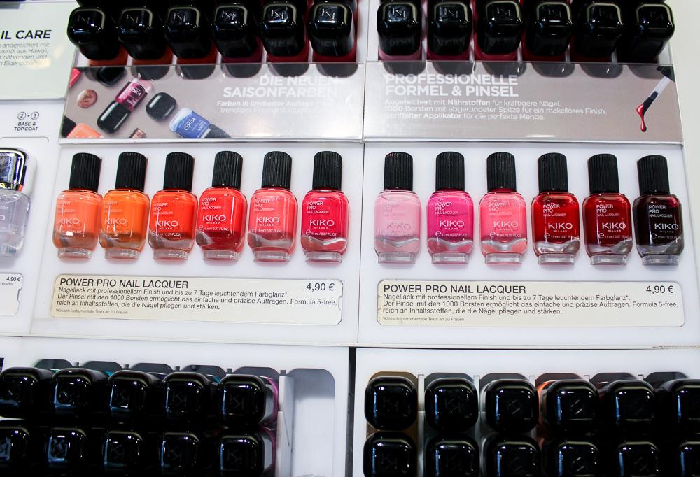 Modeblog Köln Blogger Event Kiko Milano Store Hohe Straße Beauty Produkte Nagellack Farben