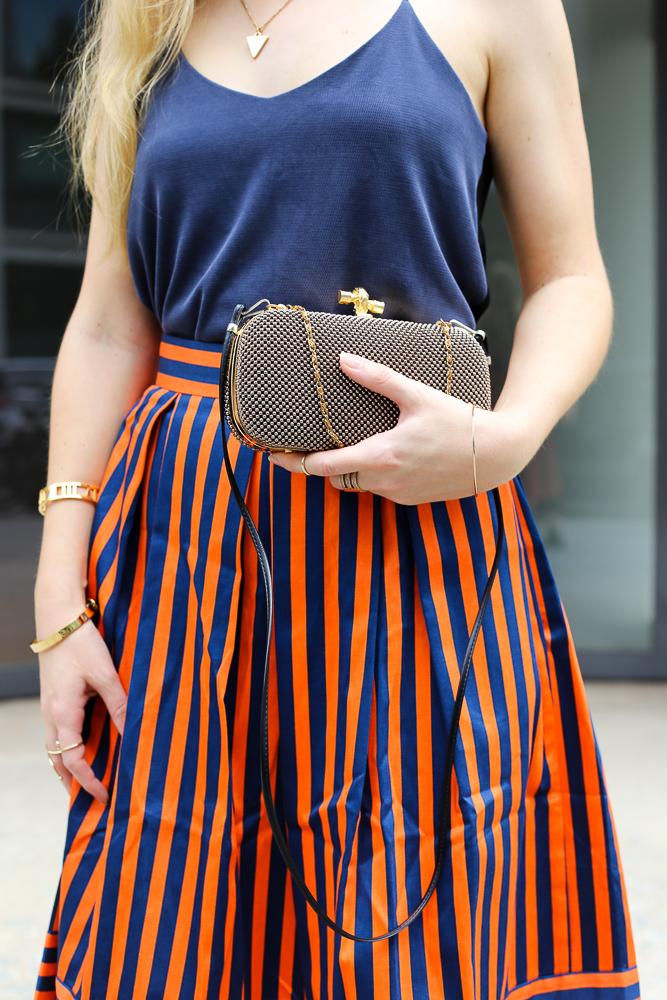 Streetstyle Berlin MBFW Fashion Week Look blaues Zara Top Modeblog 6