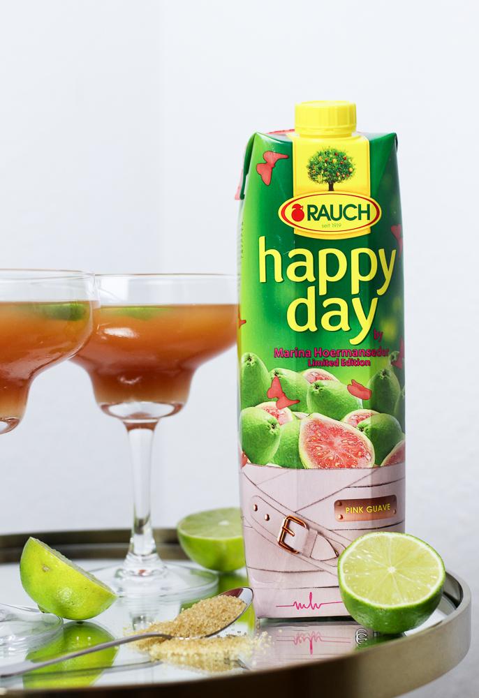 Mädelsabend Cocktail Rum Happy Day Pink Guave Marina Hoermanseder exklusive Foodblog Rezept 1