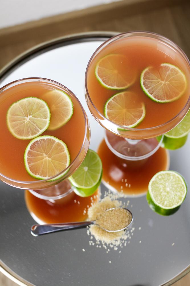 Mädelsabend Cocktail The Pink Hour Pink Guave Marina Hoermanseder exklusive Foodblog Rezept 1