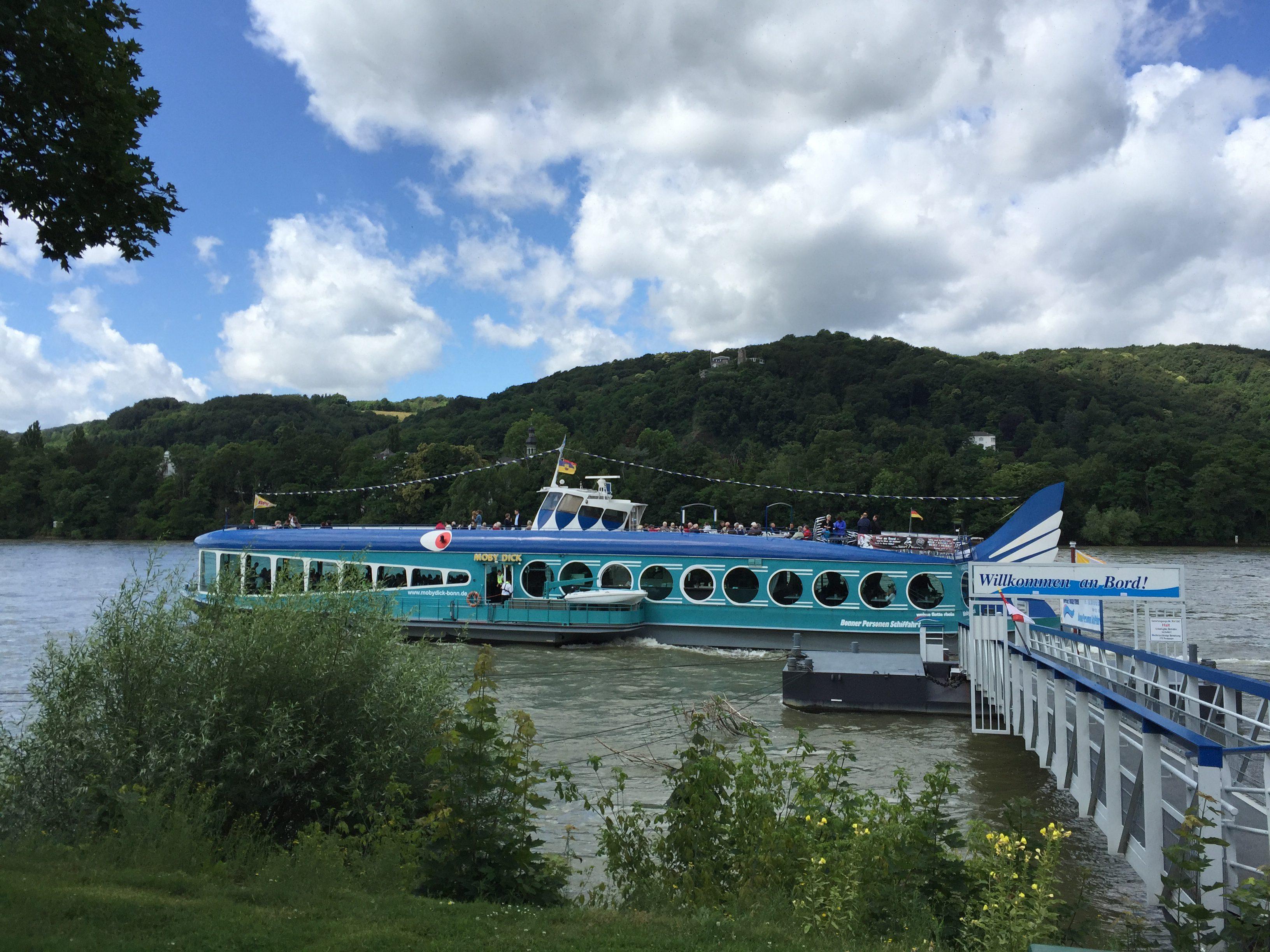 Moby Dick Personenschifffahrt Bonn Ausflug Reiseblog