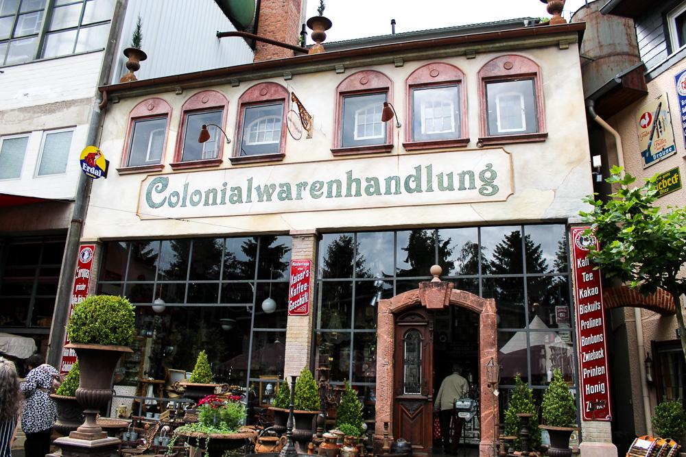 #Rheingenuss Alte Brauerei Kasbachtal Bonn Ausflugsziele Wochenende Reiseblog Colonialwarenhandlung