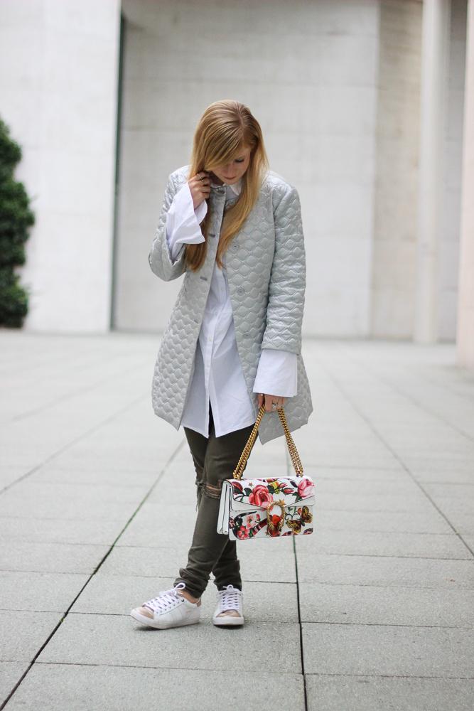 Silberne Jacke Bomboogie Gucci Dionysus Designertasche Modeblog Köln Streetstyle BrinisFashionBook 92