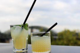 After Work Cocktails Sanpellegrino  Limonande Aperitivo Rheinloft Dachterrasse  Köln Modeblog