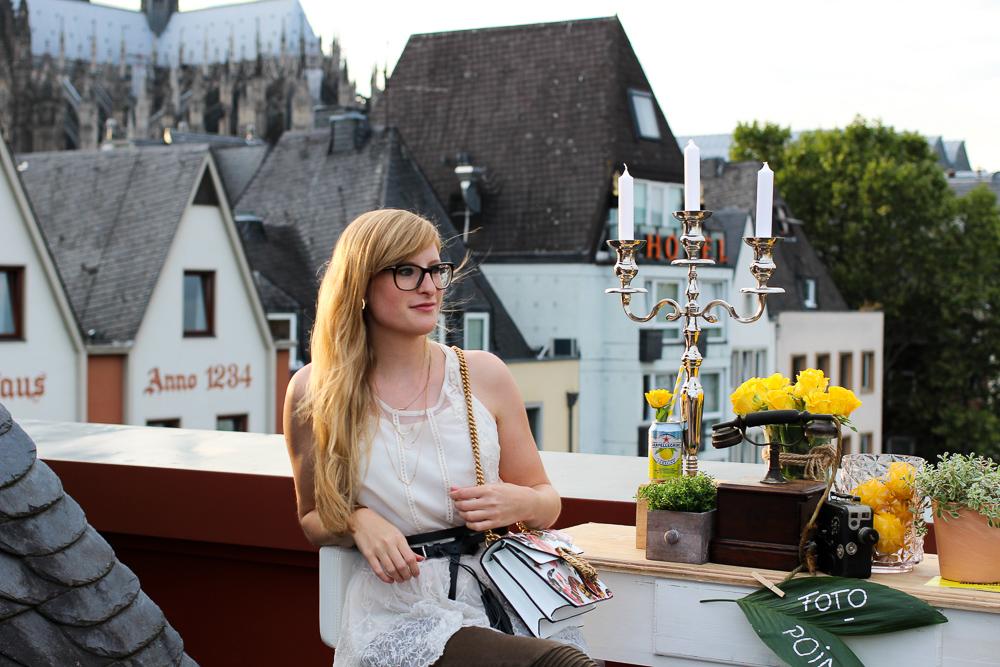 BrinisFashionbook Sanpellegrino Event Aperitivo Rheinloft Dachterrasse Köln Modeblog Gucci Dionysus