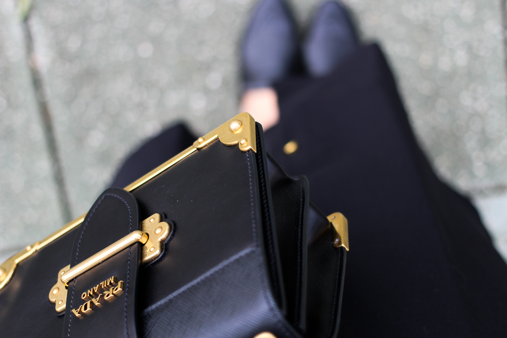 Herbst Trend Tasche Prada Cahier BagSlip-in-Loafer H&M Herbstoutfit fromwhereistand 5