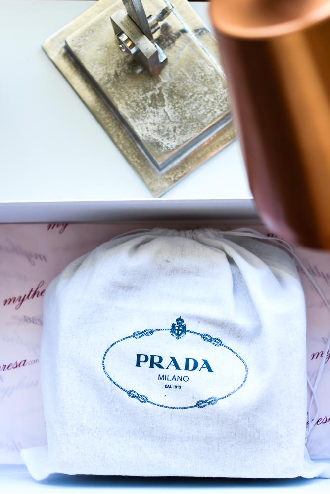 Prada Trend Tasche Herbst IT-Bag Prada Cahier Bag Mytheresa Modeblog Designerhandtasche