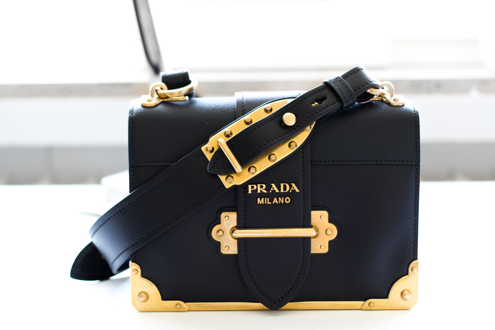 Prada Trend Tasche Prada Cahier Bag Herbst IT-Bag Mytheresa Modeblog Designerhandtasche