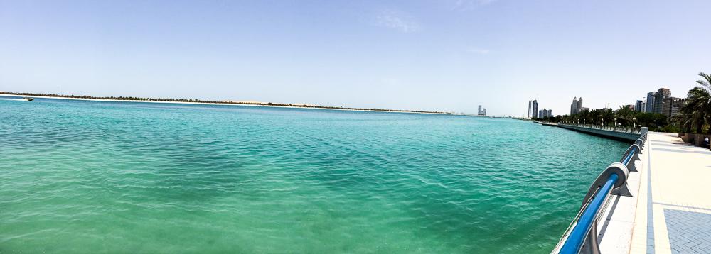 Reiseblog Deutschland Reiseblogger vereinigten Arabische Emirate Abu Dhabi Meer