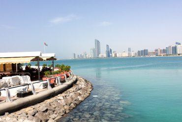 Reiseblog Deutschland Reiseblogger vereinigten Arabische Emirate Abu Dhabi Promenade Restaurant