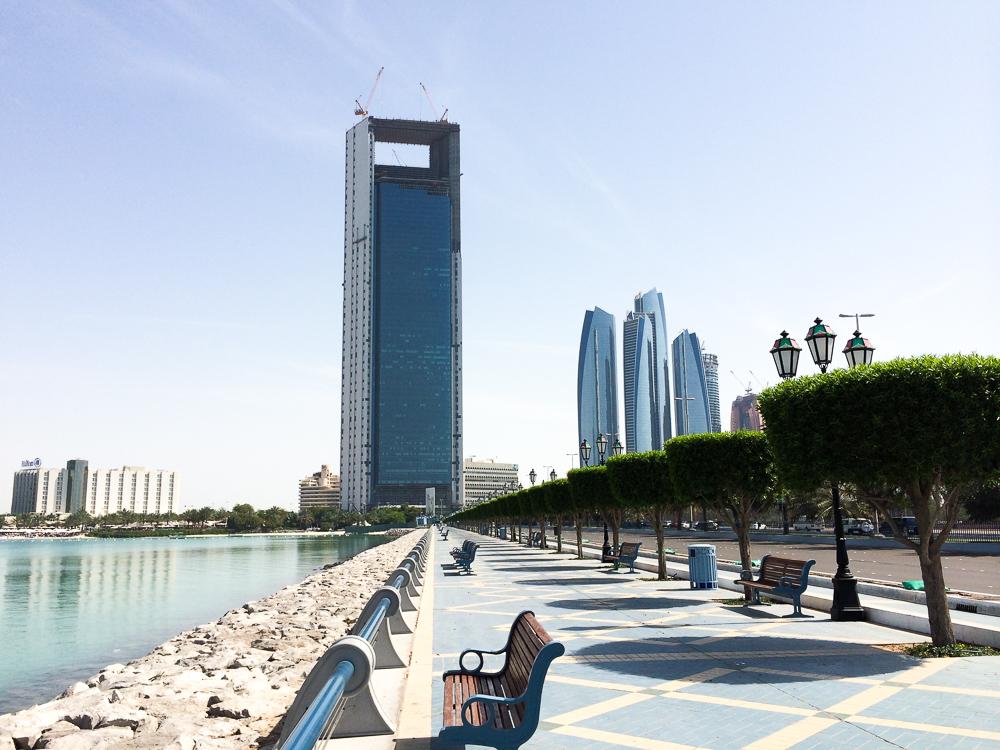 Reiseblog Deutschland Reiseblogger vereinigten Arabische Emirate Abu Dhabi Promenade Sightseeing