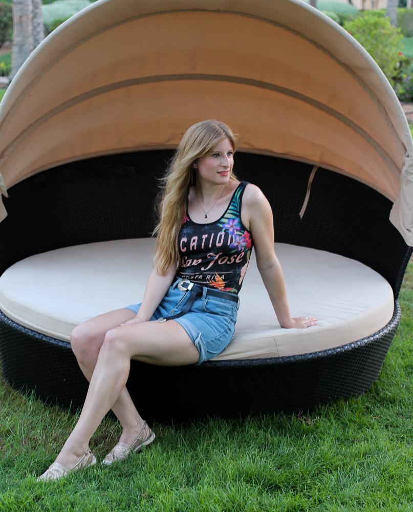 Sommertrend 2016 Print Body Asos Urlaubsoutfit Jeans Hotpants Modeblog Espadrilles 5