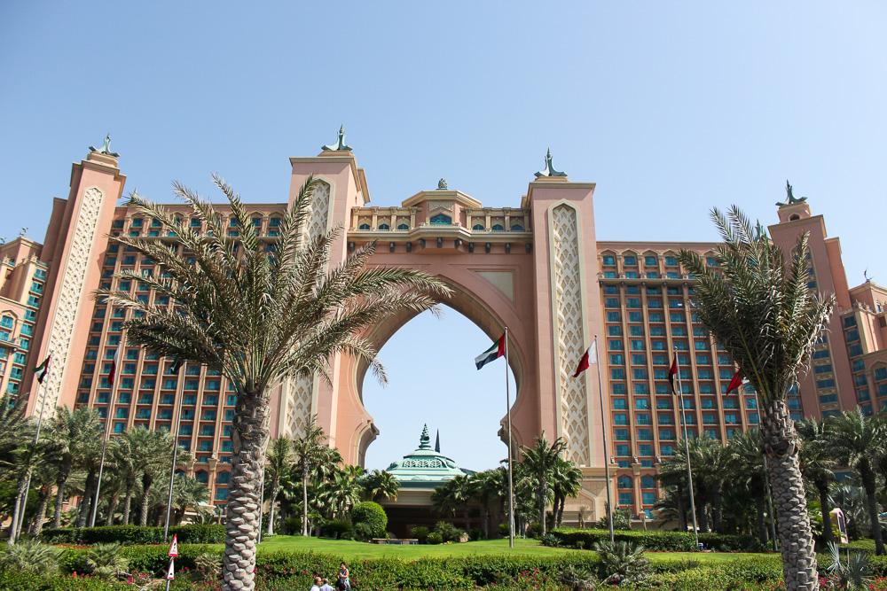 Ein Tag in Dubai Reisetipps Dubai-Reise Sightseeing Atlantis The Palm Hotel Reiseblog