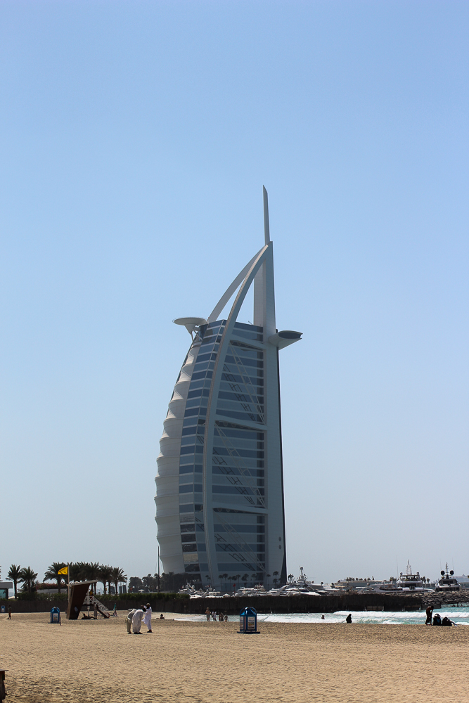 Ein Tag in Dubai Reisetipps Dubai-Reise Sightseeing Burj Al Arab Reiseblog