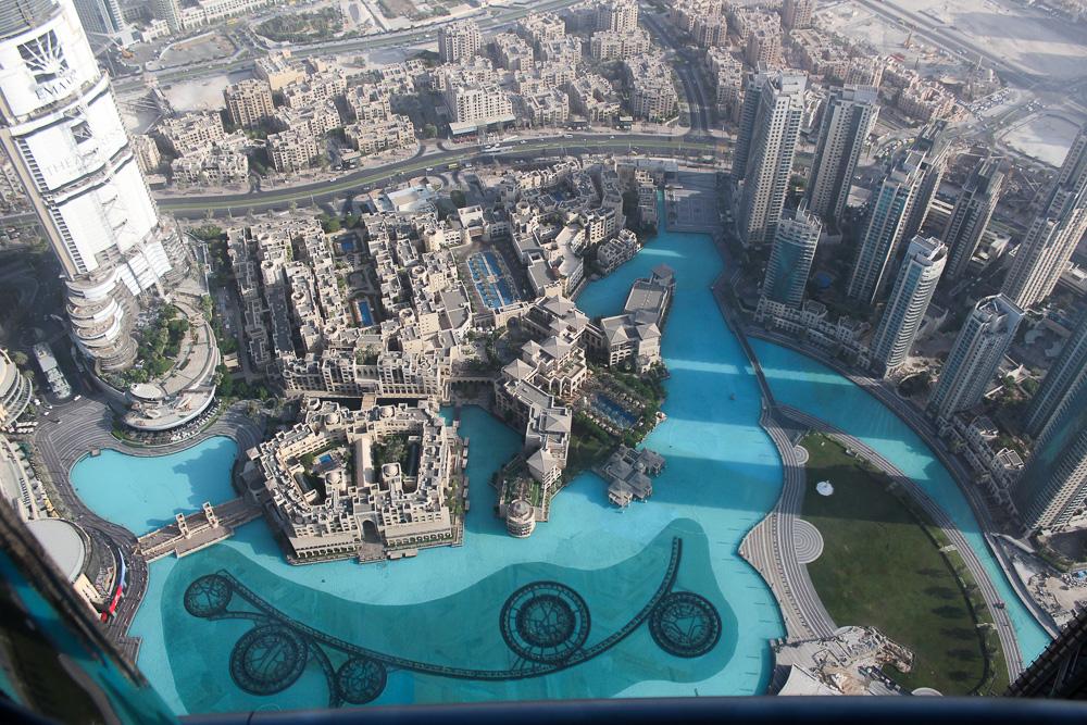 Ein Tag in Dubai Reisetipps Dubai-Reise Sightseeing Burj Khalifa at the top Reiseblog