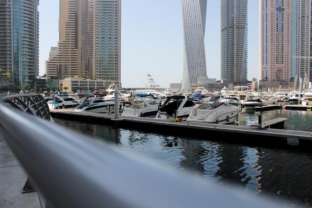 Ein Tag in Dubai Reisetipps Dubai-Reise Sightseeing Marina Dubai Reiseblog
