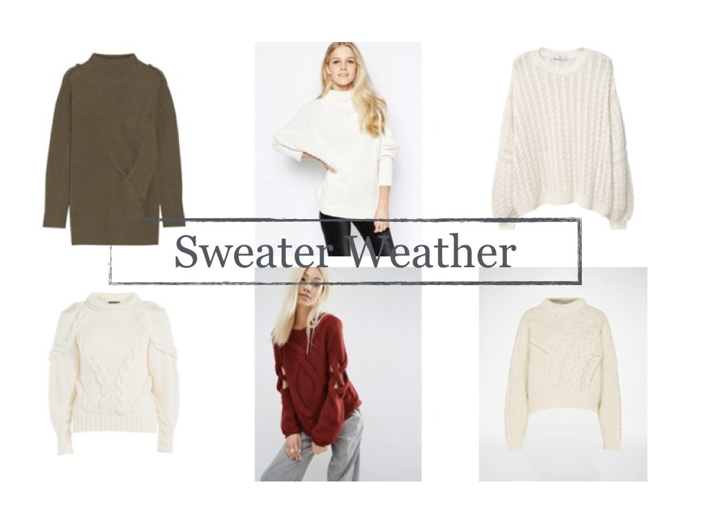 Herbsttrend 2016 Shopping Inspiration – kuschelige Pullover
