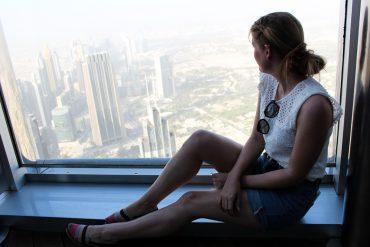 Reiseblog BrinisFashionBook Ein Tag in Dubai Reisetipps Dubai-Reise Sightseeing Burj Khalifa at the top