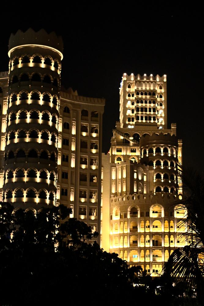 Reiseblog Hotel Hilton Al Hamra Ausblick Waldorf Astoria Ras Al Khaimah