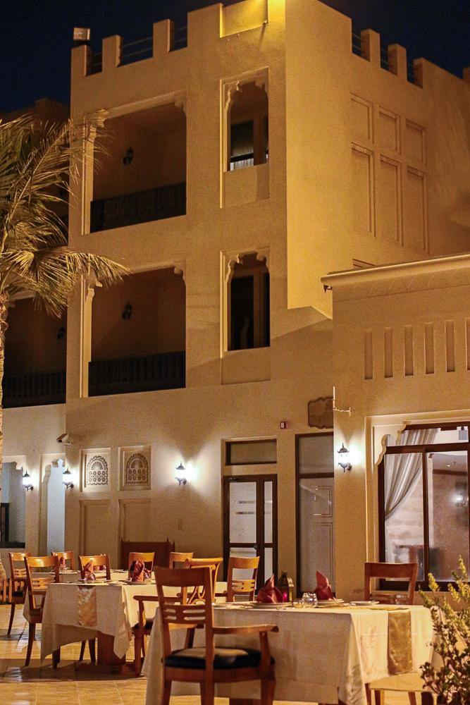 Reiseblog Hotel Ras Al Khaimah Hilton Al Hamra Beach & Golf Resort Vereinigte Arabische Emirate Restaurant
