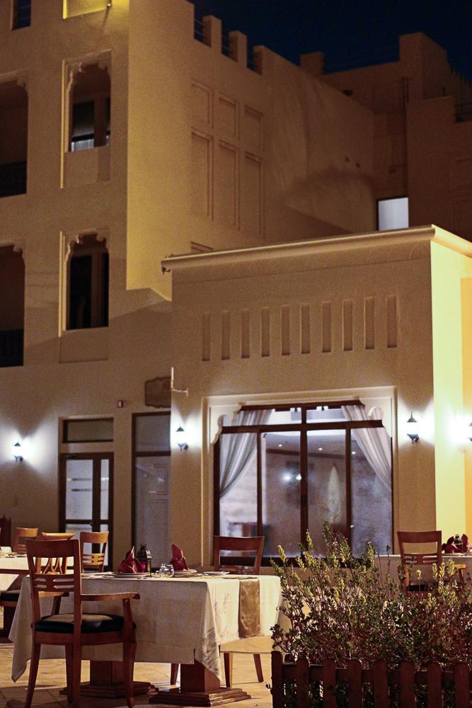 Reiseblog Hotel Review Hilton Al Hamra Beach & Golf Resort Restaurant Ras Al Khaimah Vereinigte Arabische Emirate