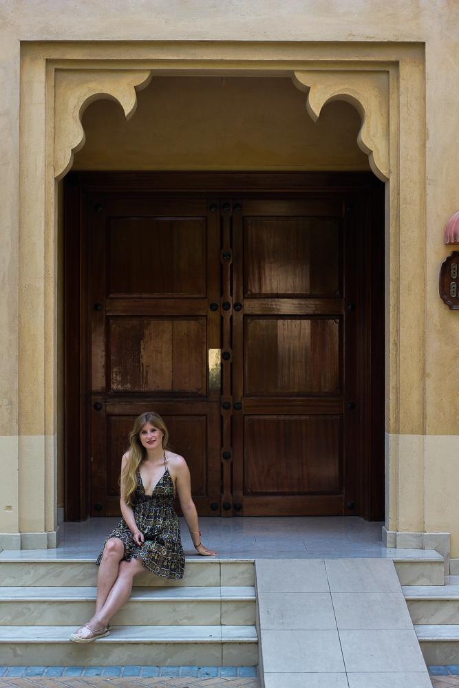 Urlaubsoutfit Buntes Sommerkleid Asos kombinieren Modeblog OOTD Sommertrend 3