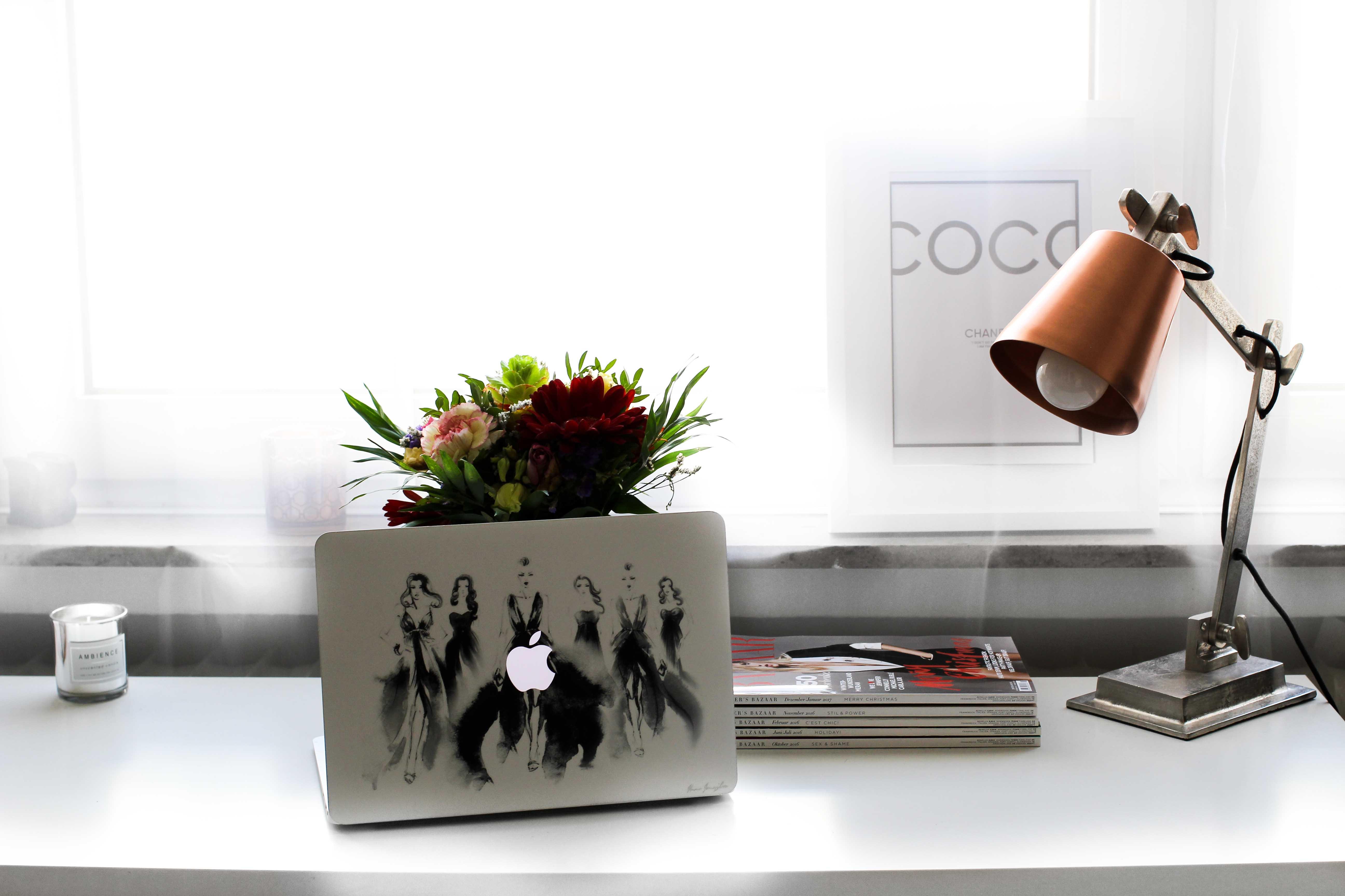Blogger Arbeitsplatz Individuelle Skins Laptop MacBook CaseApp Gewinnspiel 4