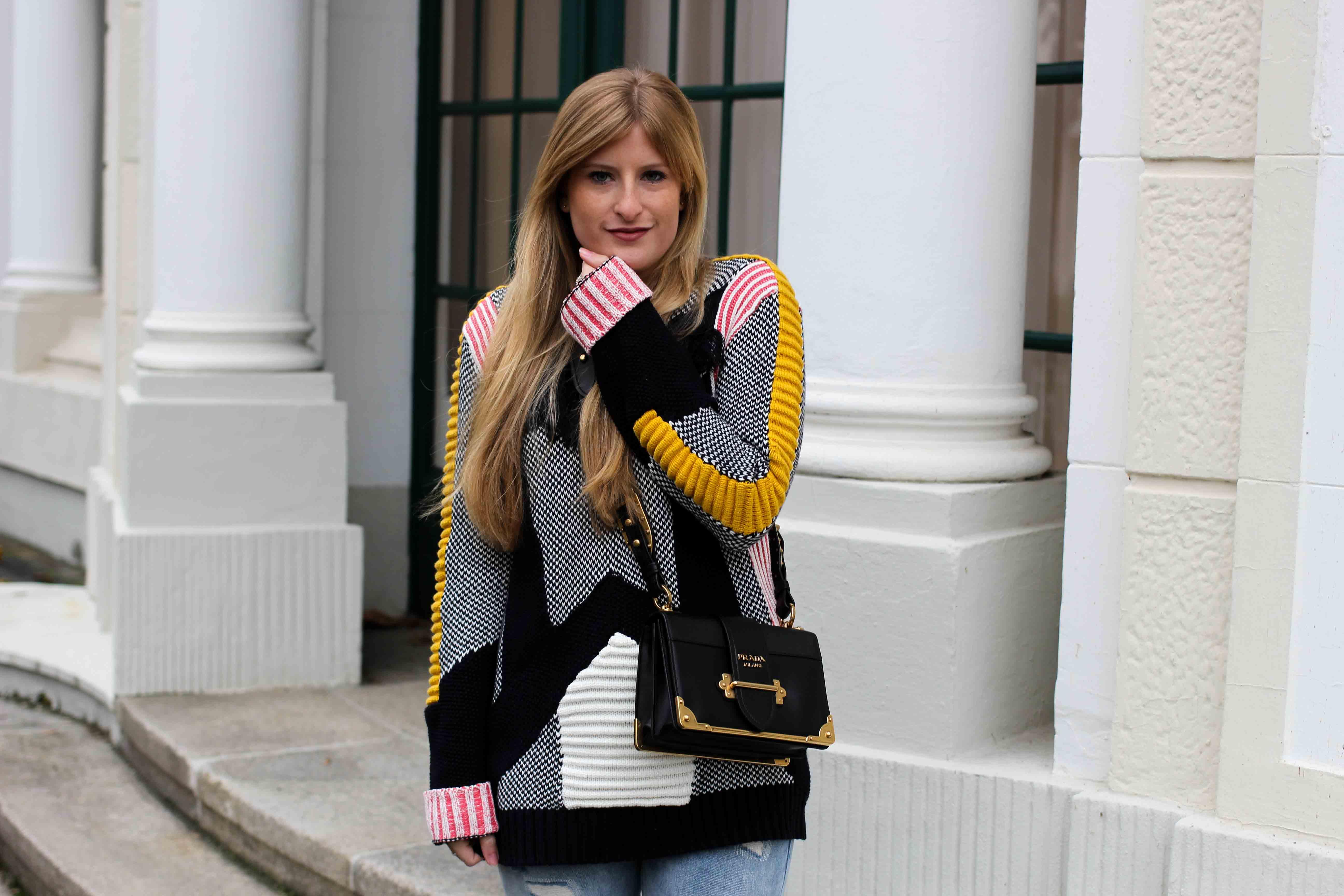 Streetstyle Bunter Wollpullover Asos Statementpullover Fashion Blog 8