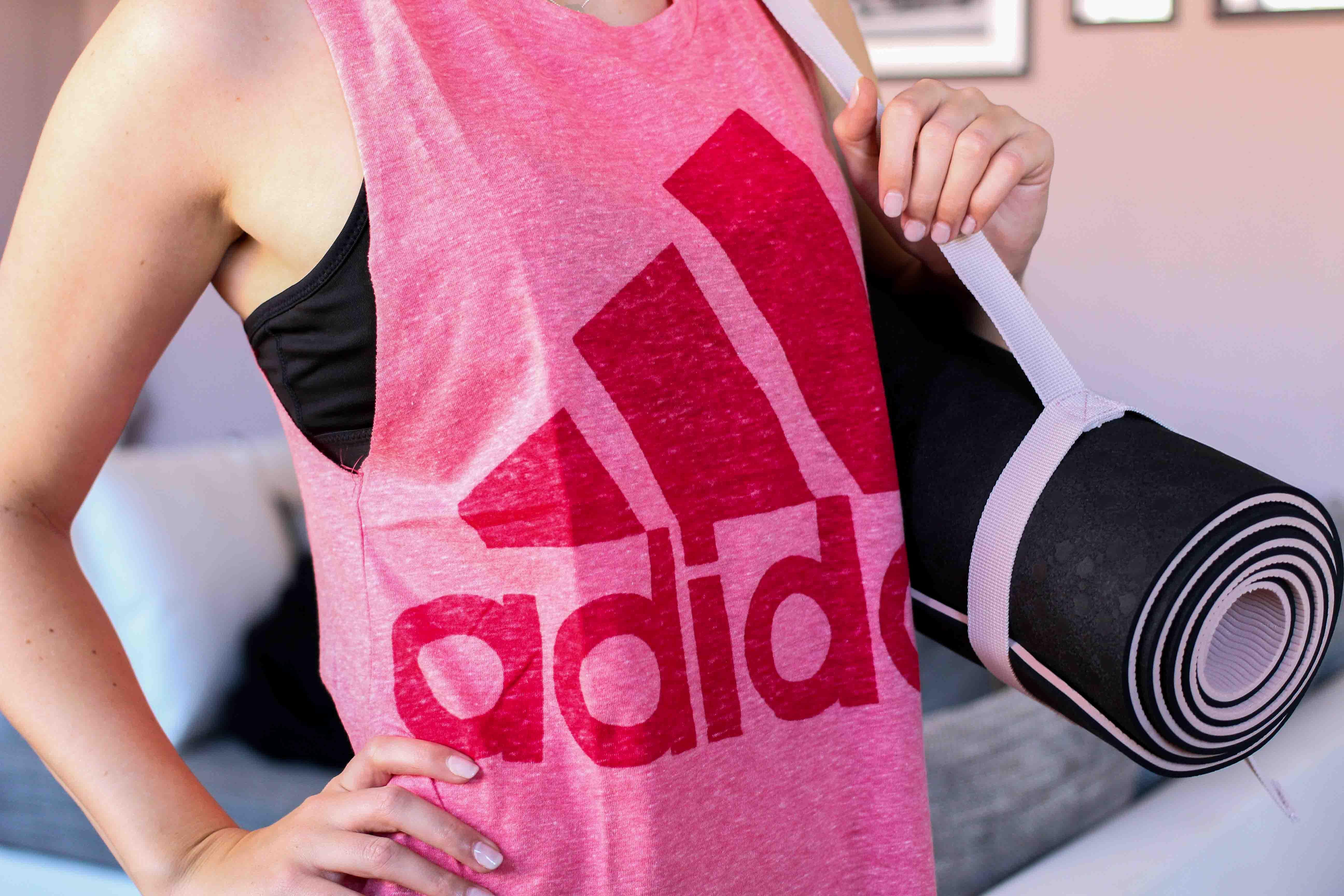 Yoga Outfit Zalando Yoga Matte Ausstattung Adidas Sportoutfit Sporttrend