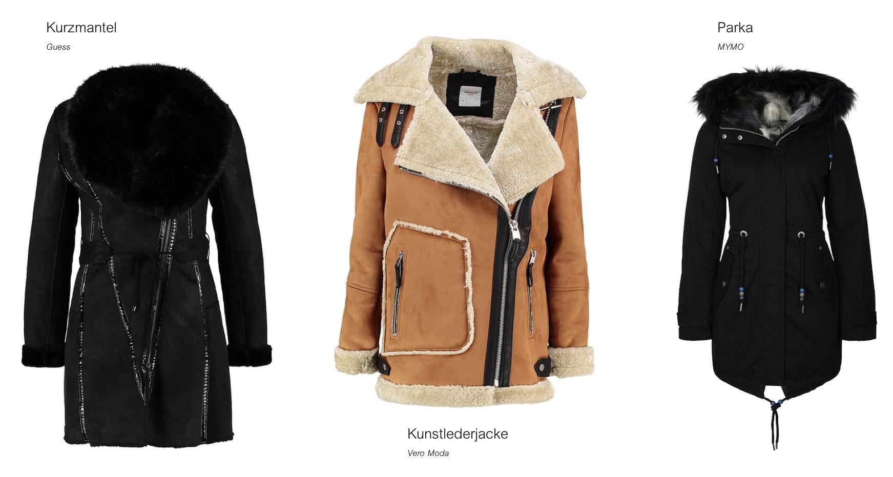 Zalando Gewinnspiel Wishlist warme Jacken Modeblog
