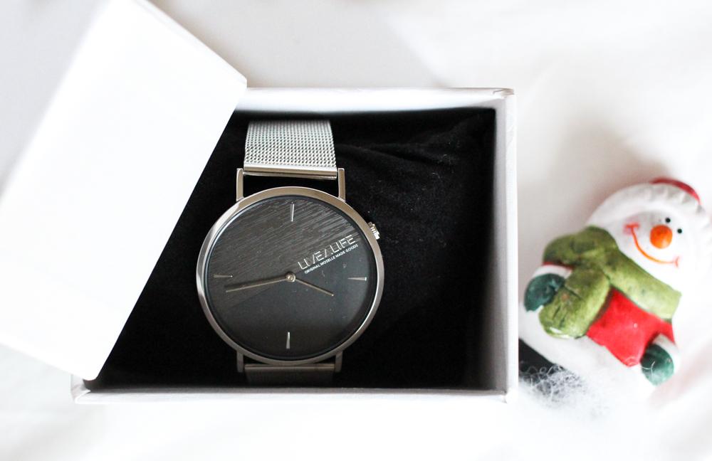 Advents-Gewinnspiel Fashionsparkle silberne Uhr LiveaLife Accessoires Weihnachtsgeschenk Ideen 2