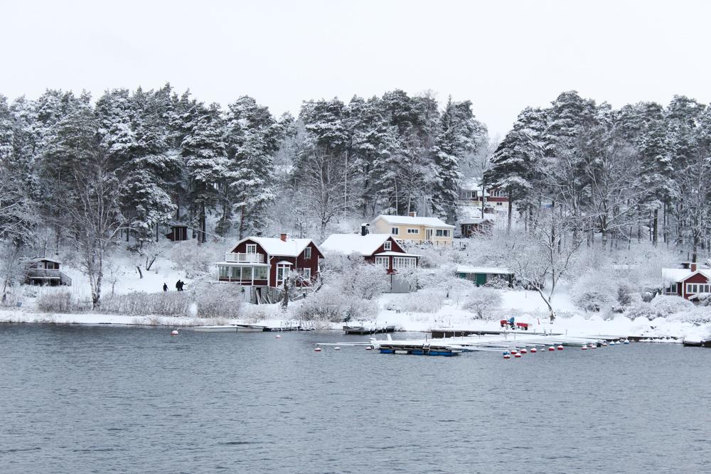 Archipelago Tour Stockholm Weihnachtszeit Schnee Sehenswürdigkeiten Reiseblog