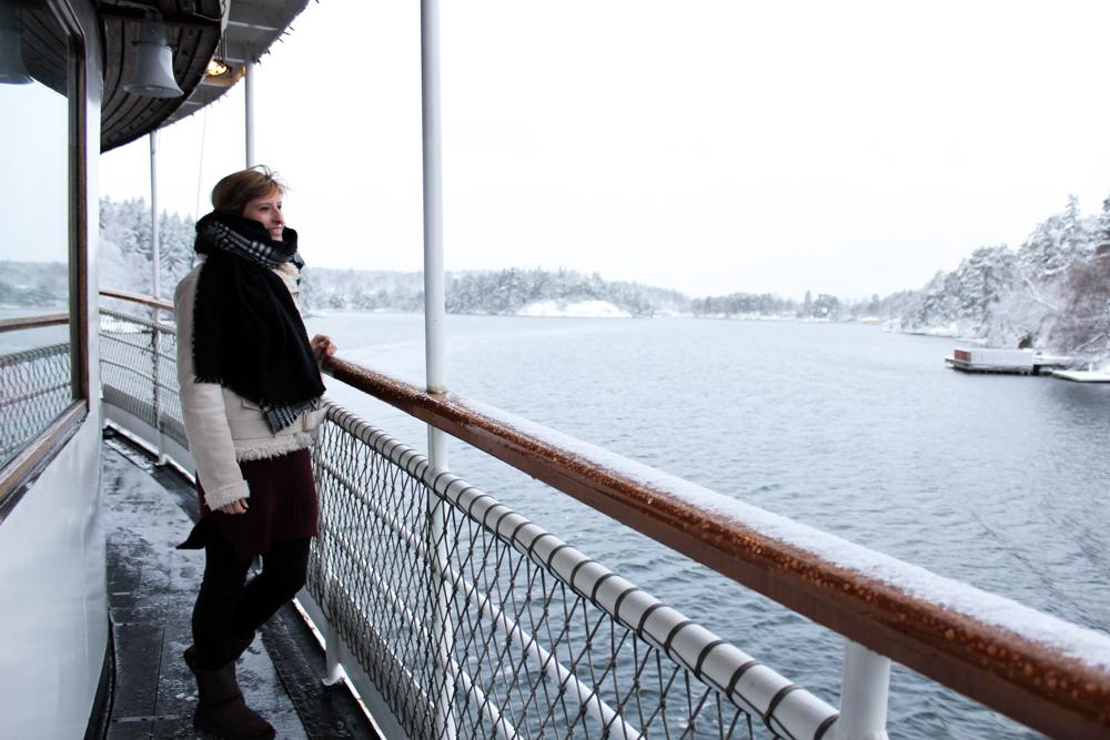 Archipelago Tour Stockholm Weihnachtszeit Schnee Sehenswürdigkeiten Reiseblog 1