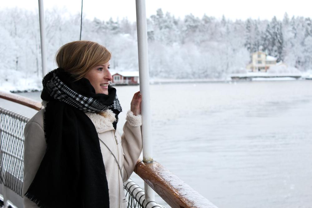 Archipelago Tour Stockholm Weihnachtszeit Schnee Sehenswürdigkeiten Reiseblog 2