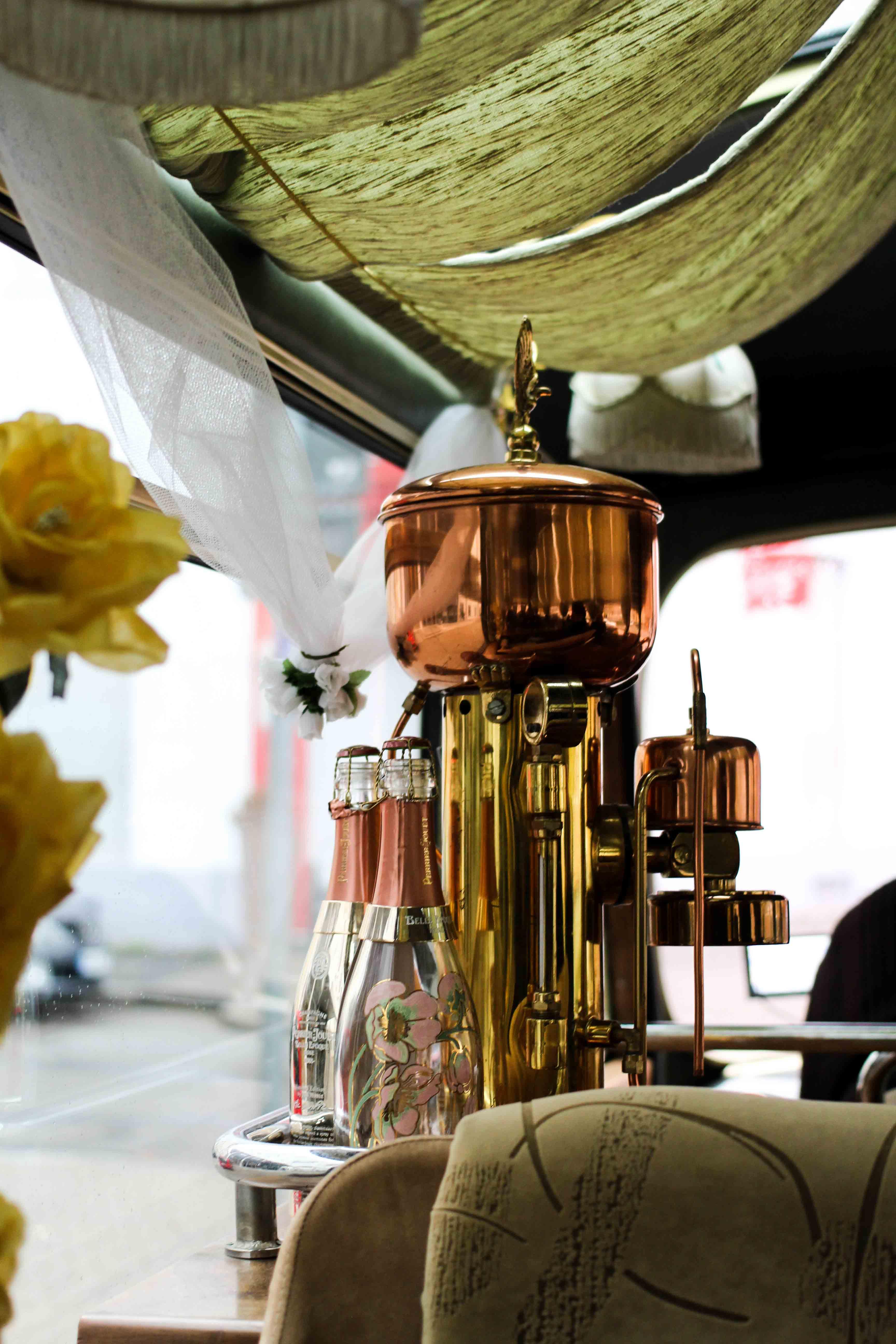 Mercure Weinlese Reiseblog Mercure Mannheim Champagner Bus Bloggerevent