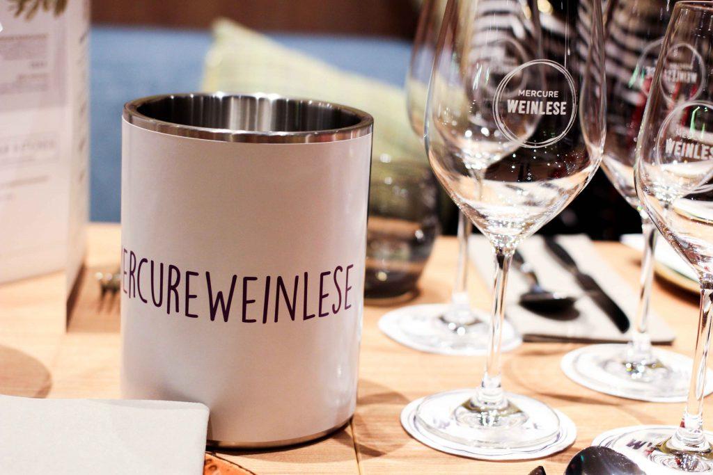 Mercure Weinlese Reiseblog Weinprobe Mercure Mannheim Weinglas