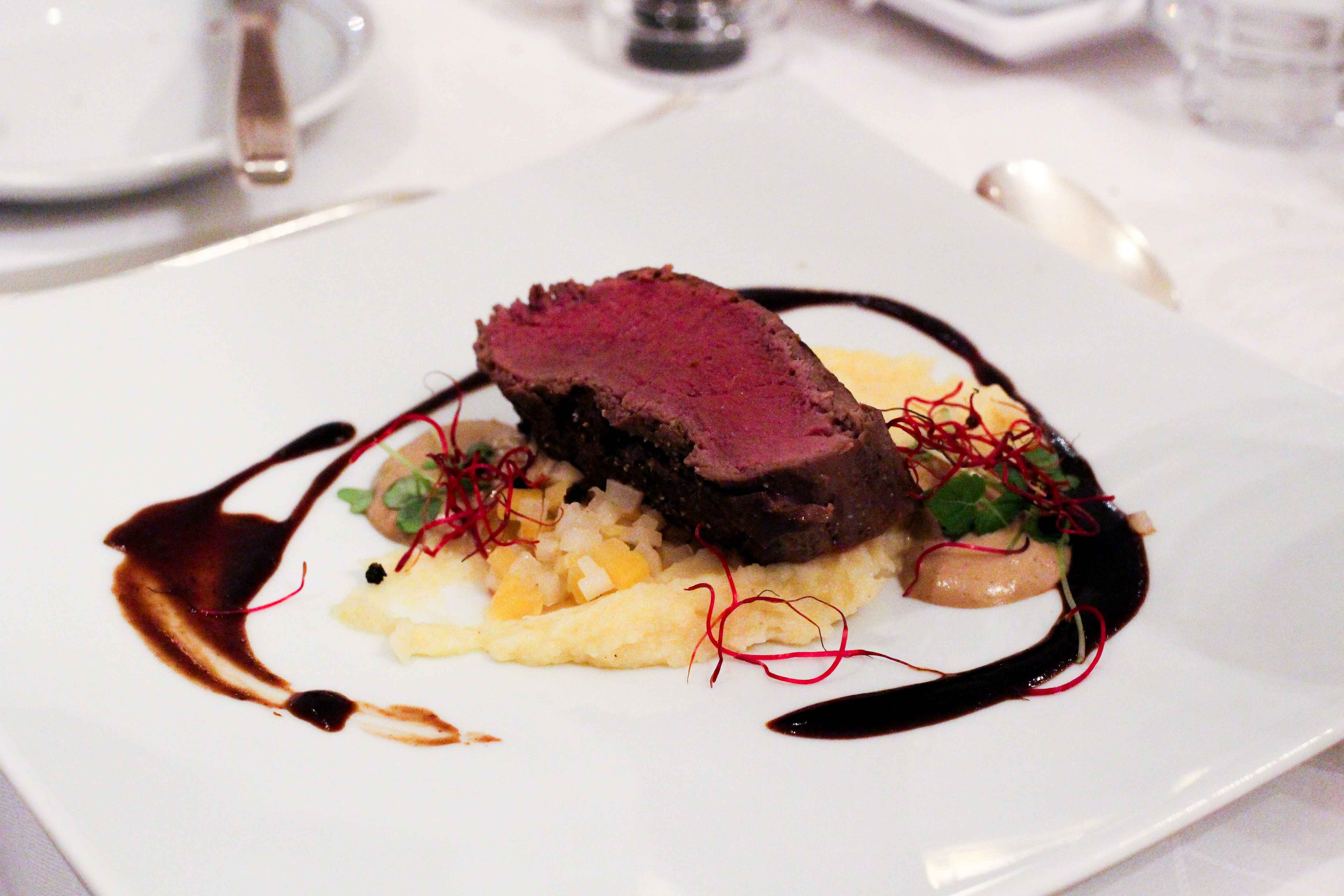 Steigenberger Hotel Bad Neuenahr #Stahr Bloggerreise Luxushotel Eifelhirsch Dinner