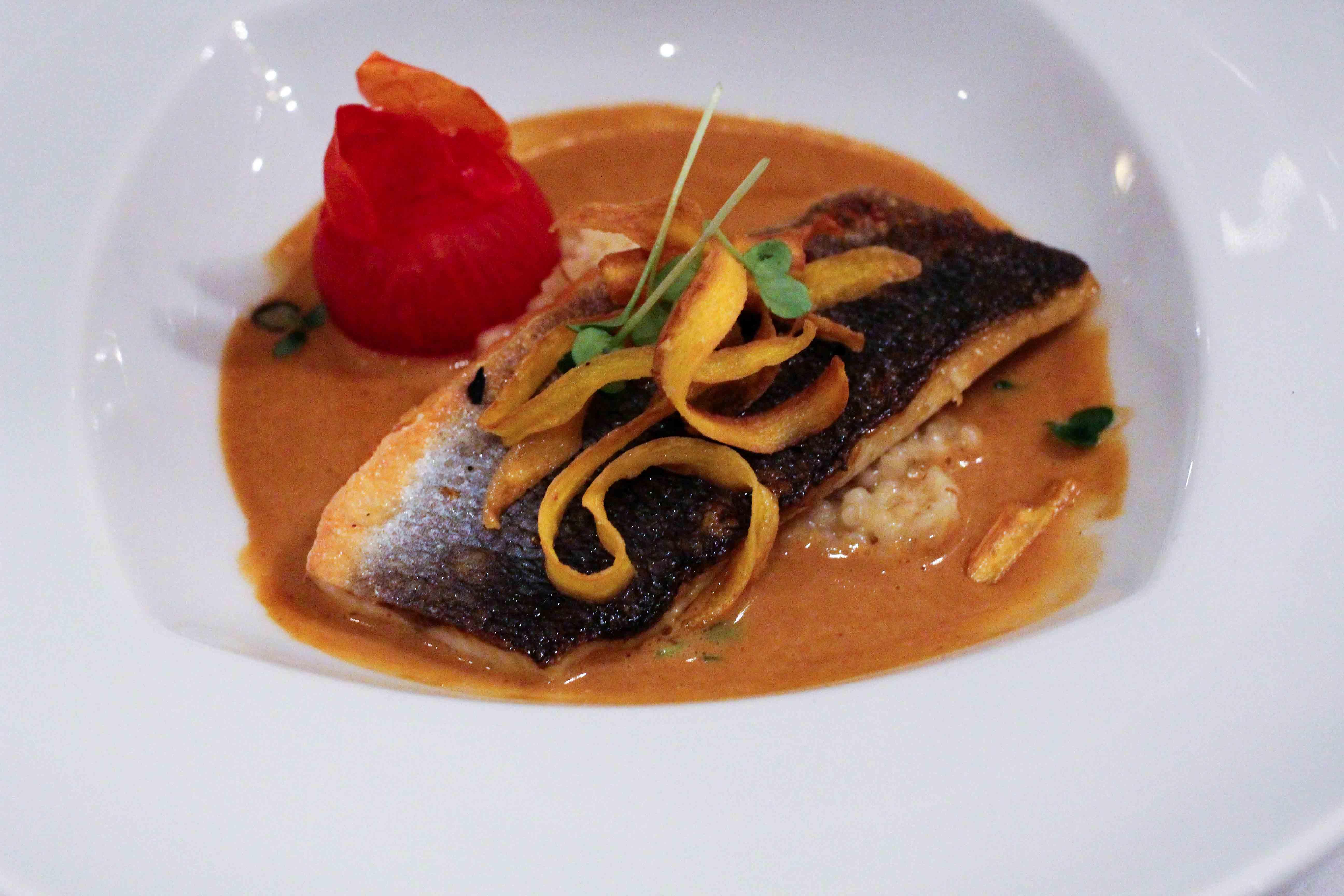 Steigenberger Hotel Bad Neuenahr #Stahr Bloggerreise Luxushotel Fisch Dinner