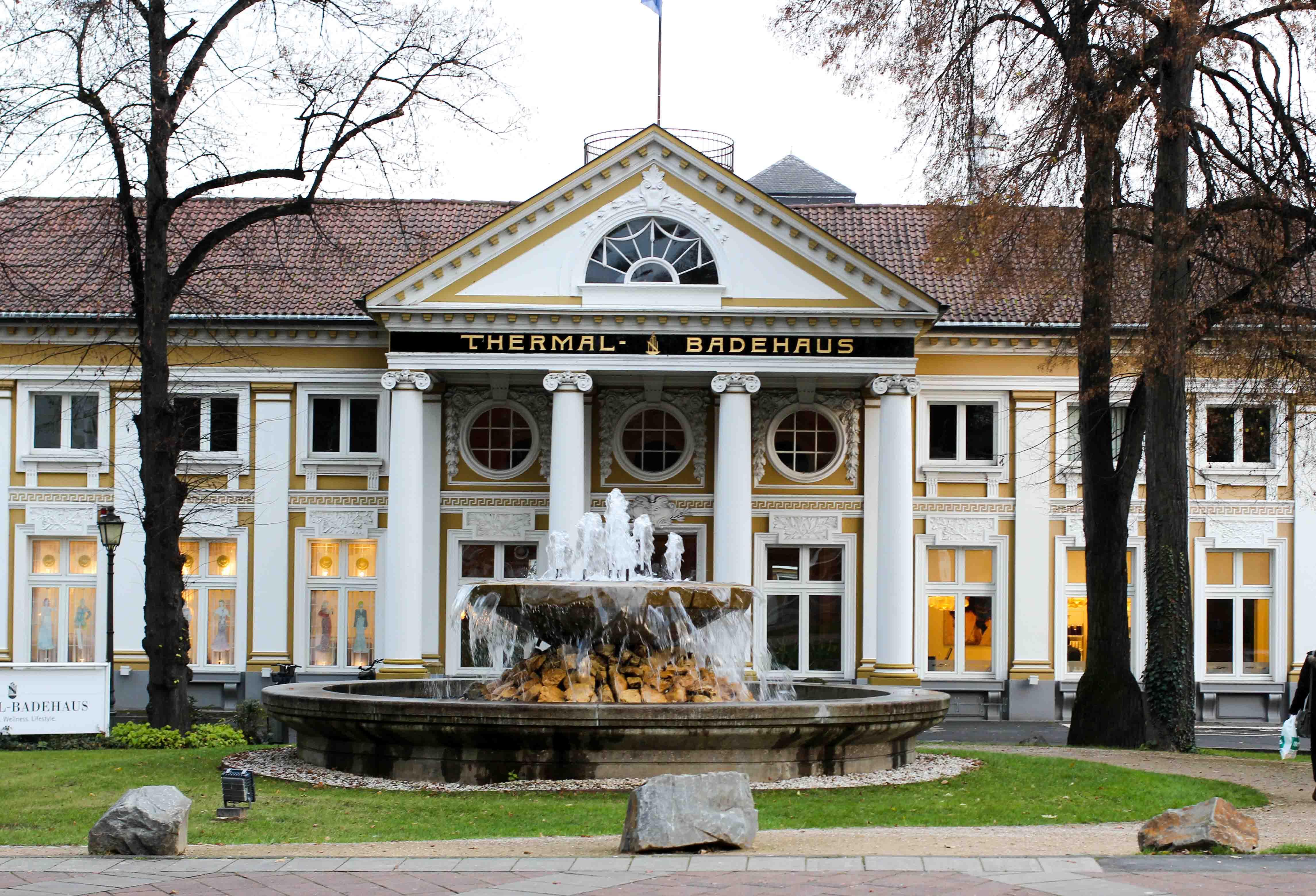 Steigenberger Hotel Bad Neuenahr #Stahr Bloggerreise Luxushotel Thermal Badehaus