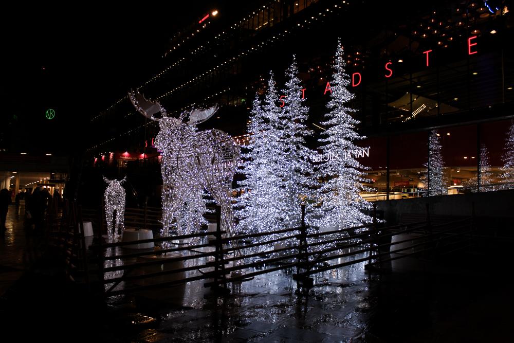 Stockholm Weihnachtszeit Tipps Weihnachtsdekoration Elch Christmas Reiseblog 2