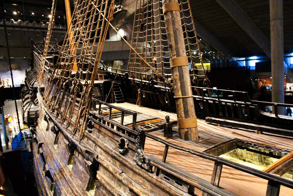 The Vasa Museum Stockholm Weihnachtszeit Schiff Sehenswürdigkeiten Reiseblog 2