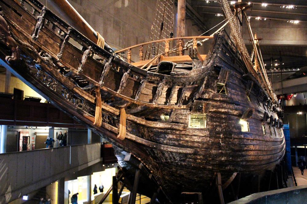 The Vasa Museum Stockholm Weihnachtszeit Schiff Sehenswürdigkeiten Reiseblog